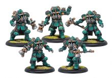 Crucible Guard Assault Troopers  Crucible Guard Unit (metal/resin)